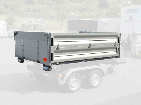Abroll-Alupritsche 70 251x177x70cm für KONOS Hakengerät