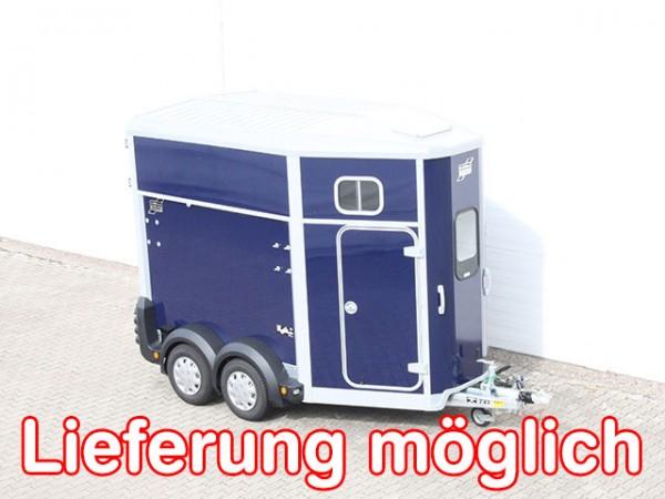 Pferdeanhänger HB506|Sattelkammer|blau|Ifor Williams