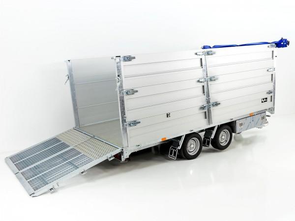 Multi-Heckkipper TT35-40 GB 3,5t 192x402x140cm Tandem Twintrailer