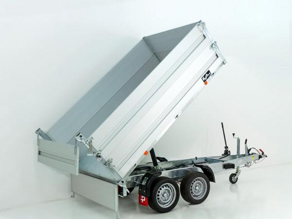 Heckkipper PK 2500 151x260cm 2,5t|Handpumpe|BWA|Pongratz