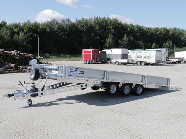 Hochlader 204x550cm 3,5t|kippbar|Typ TB 5521|Ifor Williams