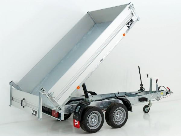 Heckkipper PK 2500 151x260cm 2,5t|Handpumpe|Pongratz
