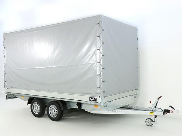 Hochlader 200x400cm 2,7t m. Hochplane 200cm