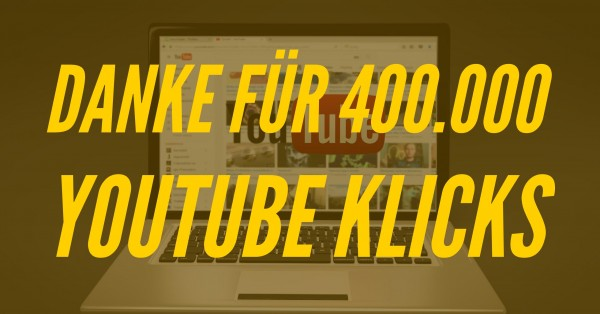 400000-YouTube-Klicks