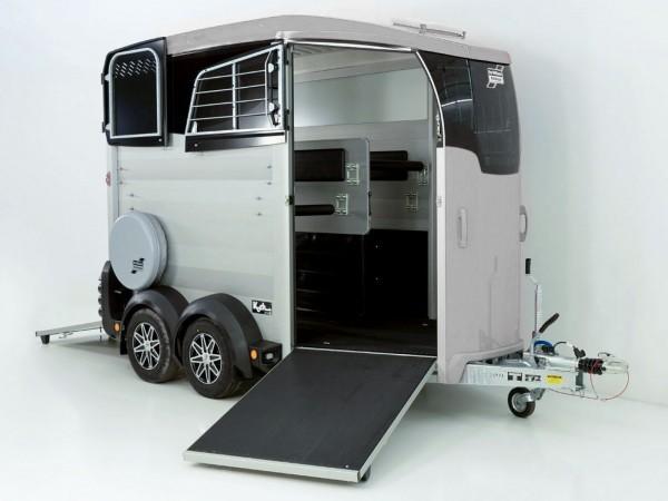 Pferdeanhänger HBX 511|Frontausstieg|neues Modell|silber|Ifor Williams