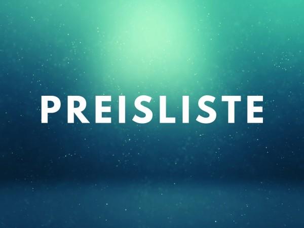Preisliste / Prospekte