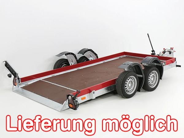 Absenkanhänger Tandem 163x340cm 3,5t