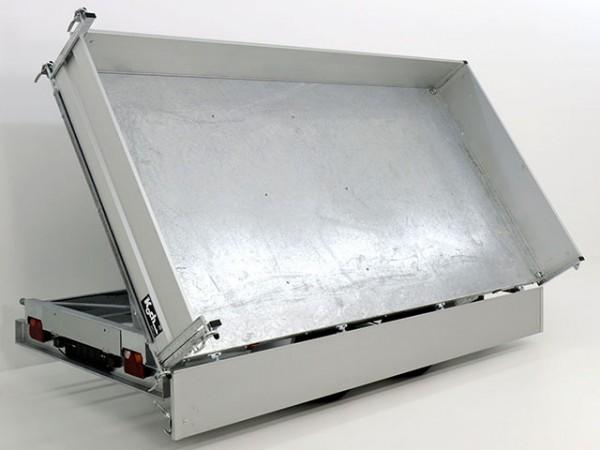 Dreiseitenkipper VDK 184x364cm 3,5t|Blattfedern|E-Pumpe|Rampentunnel|Variant