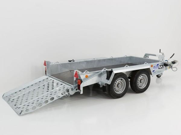 Baumaschinenanhänger GH94AB 131x280 2,7t mit Rampe neu VORRÄTIG