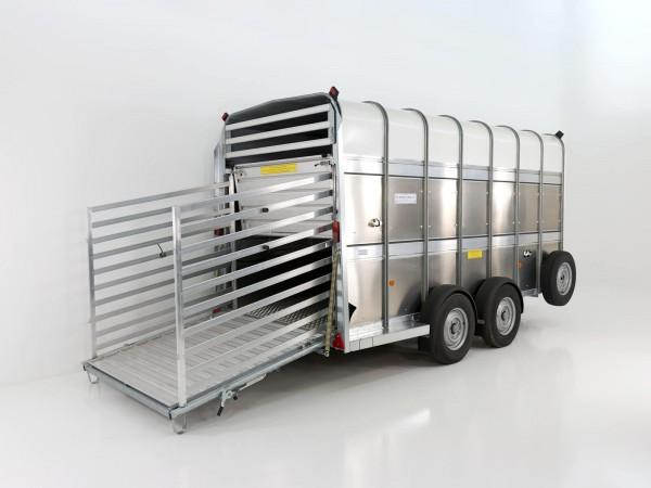 Viehanhänger TA510 14x7 178x434cm 3,5t|213cm Doppelstock|Ifor Williams