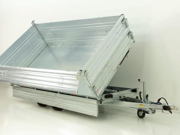 Kipper *Stahlbordwände* 204x410cm 3,5t E-Pumpe m. BWA