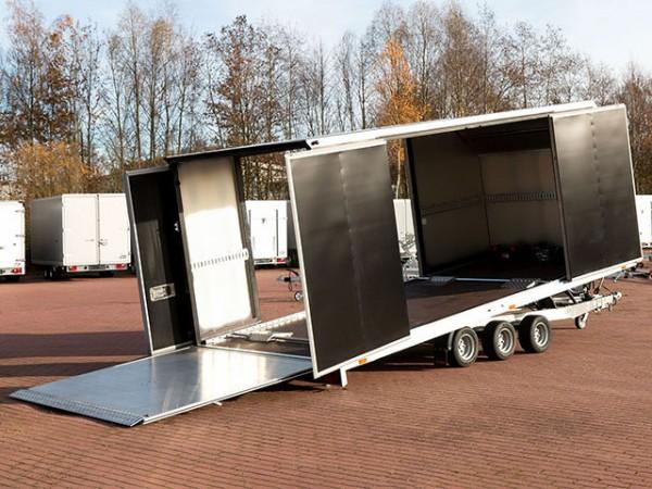 Autotrailer Cargo Race Master 230x560cm 3,5t mit E-Winde