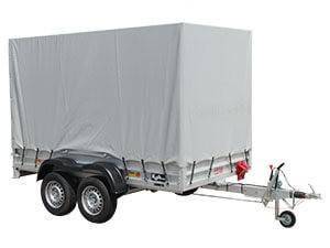 Koch-Anhänger 150x300cm 2,0t Typ 7.20 Hobby mit Hochplane 180 cm - Angebot