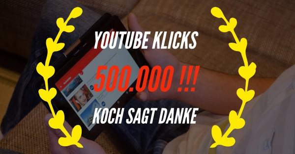 Youtube-500-000-Klicks
