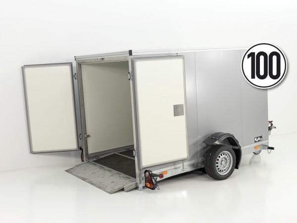 Koffer-Absenkanhänger 156x265cm Höhe:164cm 1,5t