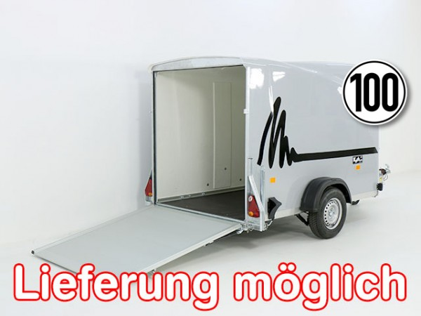 Kofferanhänger DK Vollpoly 150x290cm H:160cm, neues Modell, grau