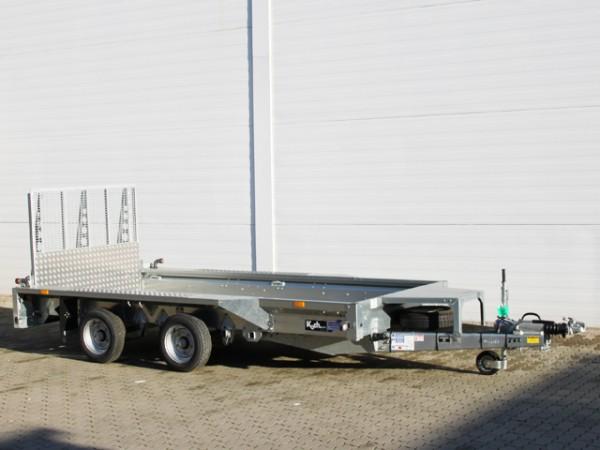Baumaschinenanhänger GX125 157x366 3,5t|Rampe 1,2m|Ifor Williams