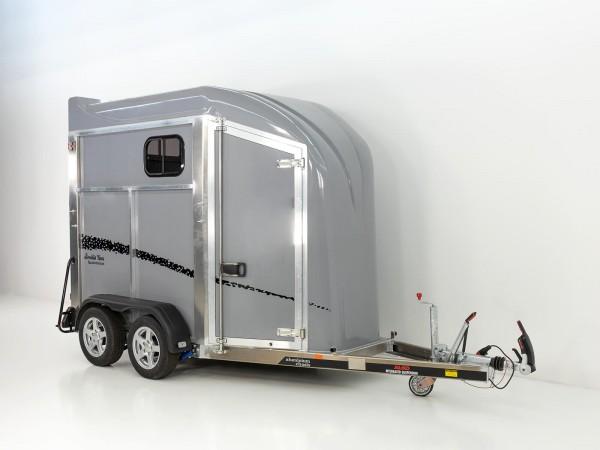 Pferdeanhänger Bonilla Vans B4 Aluminium m. SK Vorführanhänger