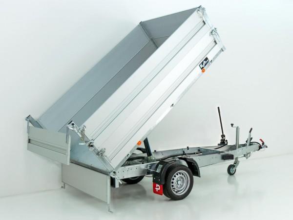 Heckkipper PK 1800 151x260cm 1,8t|Handpumpe|BWA|Pongratz