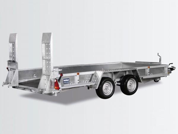 Baumaschinenanhänger Maxi Load 180x400 3,5t Skids Beavertail