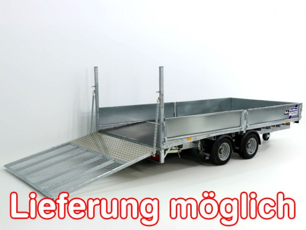 Hochlader 198x423cm 3,5t Typ:LM 146 B Beavertail
