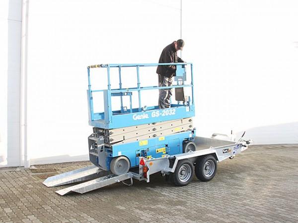 Baumaschinenanhänger GH1054AB Skids 163x305 3,5t|Ifor Williams