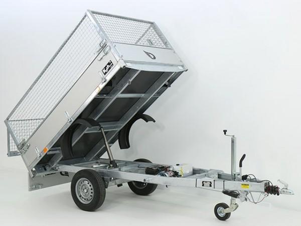 Heckkipper 150x250cm 1,3 E-Pumpe+Gitter - Aktion