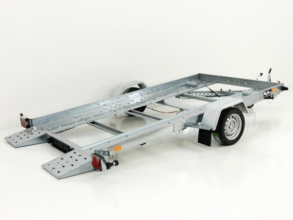 Autotrailer Smarty 180x350cm 1,5t kippbar